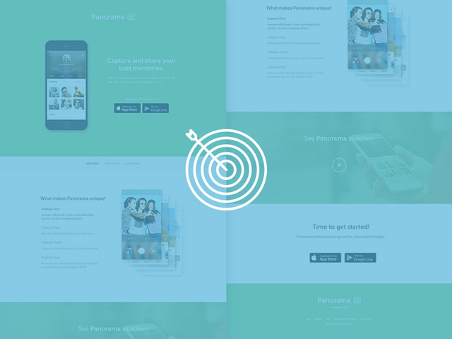 13-panorama-mobile-app-landing-page-featured-image